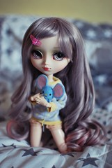 are you there (nonickavailable) Tags: pullip galene melody mouse obitsu cute grey curly wig