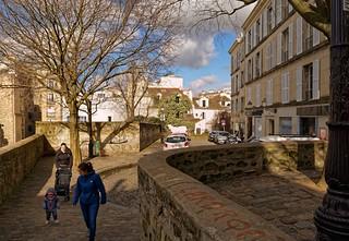 Montmartre / Paris / Place du Calvaire