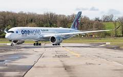 Airbus A350 Qatar Airways One World A7-ALZ (French_Painter) Tags: airbus a350 qatar airways a7alz oneworld fwzfo a350msn143
