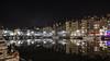 Honfleur, Le vieux bassin @ night (d_smets) Tags: honfleur normandië vieuxbassindhonfleur