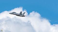 F-18 Super Hornet (Don Sullivan) Tags: airshow aviation flight transportation f18superhornet unitedstatesnavy usnavy f18 militaryaviation f18demoteam sunnfun lakeland florida