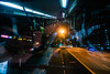 Selfie (OzGFK) Tags: asia singapore bus publictransport goingsolo solo selfie nikon d90 tokina1116mm night movement windowseat reflection urban streetphotography twoviews lonelytraveller