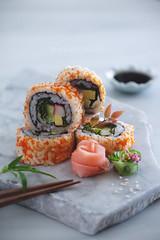California maki (Ira Rodrigues) Tags: food sushi japanese cuisine plating