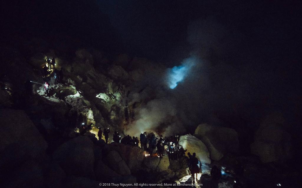 Blue Fire tại Mt Ijen