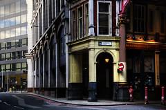 Resurrect The Harmony (Dimmilan) Tags: uk england london city urban architecture building street windows noentry twilight nightlight