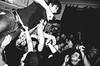 bring the noise (matthias hämmerly) Tags: rocker punks hot loud rock n roll rocknroll subculture bw black white grain grit gritty bass music live punksnotdead surfers swiss switzerland schweiz zürich zuerich fun sweaty monochrom monochromphotography monochrome night club stage blackandwhite people human man musician hat gig einfarbig musik felsen konzert uberyou stagedive