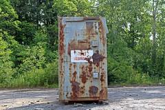 no tresspasing (ComradePhoto) Tags: peleeisland dynamite shed abandoned quarry notresspasing canonrebelt6 urbex