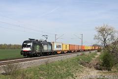 182 527-2 (ES 64 U2-027) WLC Railpower ÖBB Nörten-Hardenberg 21.04.2015 (Jens Mittwoch) Tags: taurus stier ochse siemens wiener lokalbahn wlc cargo ag