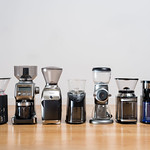Electric coffee grinders for all grind sizes and amounts from coarse, medium and finely ground coffee beans thumbnail