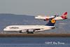 Airbus twofer at SFO (320-ROC) Tags: virginamerica alaska alaskaairlines lufthansa n282va daimm airbus airbusa320 airbusa380 airbusa320200 airbusa380800 airbusa320214 airbusa380841 airbussuper a320 a380 a320200 a380800 a320214 a380841 a388 ksfo sfo sanfranciscointernationalairport sanfranciscoairport sanfrancisco