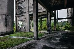 giardino cemento (in explore März 2018) (Knee Bee) Tags: giardinocemento abandoned industrial cementifico green nature decay degrado urbex