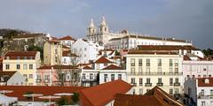 Igreja de São Vicente de Fora (lucico) Tags: 2013 lisboa portugal eu lisbon capital europa city europe alfama iglesia church igreja cityscape roof building