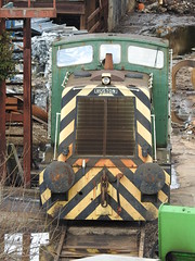 Ruston Shunter (S.G.J) Tags: rustonshunter crossleyevans scrapyard metalyard metal metaley scrapmetalmerchant scrapmetaltrain scrap shipleyscrapyard steelscrap model railway train layout ruston shunter