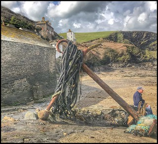 Port Isaac - Anchor - Cornwall (Explore)