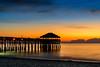 Her first time - Cocoa Beach, FL (ChuckPalmer {cepalm}) Tags: cocoabeach colors nug sunrise ocean pier sand tiki chuckpalmer