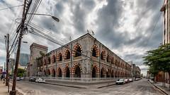 central police station (abtabt) Tags: trinidadandtobago tt portofspain pos architecture building d700sigma1224 hdr street road caribbean