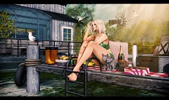 A light exists in spring (3XIS) Tags: 22769 22769bauwerk blog blogger blogging c88 catwa collabor88 dad doe exis fashion gacha girl glamaffair kite kres krescendo landscape nani photography picture secondlife sl spring thearcade tlc