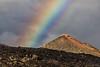 Rainbow Over A Volcanic Soil (galvanol) Tags: canaryislands rainbow lapalma rain hiking island sky colors mood volcano volcanism light