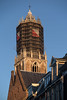 Dom Toren Maintenance (natures-pencil) Tags: utrecht netherlands nederland domtoren architecture cathedral tower stonework scaffolding gemeenteutrecht bluesky lovelycity buildings maintenance repair photoninja