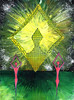 Balance v.2 - Artist: Leon 47 ( Leon XLVII ) (leon 47) Tags: abstract painting metaphysical enigma metafisica metaphysics surrealism surrealismo art arte astratta minimalism minimalismo individualismo individualism individuality umanismo humanism balance leon 47 xlvii