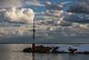 (z e d s p i c s™) Tags: szigliget balaton magyarország hungary hongarije landscape lakescape zedspics clouds cloudy sky spring 1803 plattensee port pier