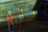Bus Stop  !!! (imagejoe) Tags: vegas nevada street strip color photography photos shadows reflections tamron people nikon