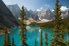 Moraine Lake, Canada (birgitmischewski) Tags: morainelake banffnationalpark banff valleyofthetenpeaks lakelouise