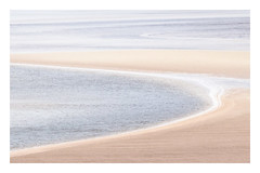 Kyle of Durness 3 (AEChown (away now)) Tags: kyleofdurness kyle durness sea lowtide sand pastel landscape abstract scotland sutherland water curves
