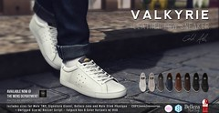NEW! COLD ASH - VALKYRIE SNEAKERS @ TMD APRIL (coldashsl) Tags: sl menswear mens mesh clothing fashion male shop coldash cold ash tmd department project themeshproject signature gianni fittedmesh fitmesh belleza jake sneakers trainers shoes shoe slink