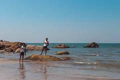 Desi Goa buddies (Scalino) Tags: goa south india beach palolem indian tourists male selfie desi