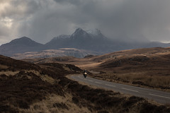 The North Coast 500 (Andrew G Robertson) Tags: north coast 500 scotland highlands sutherland motorbike motorcycle ben loyal road trip mountain weather