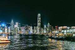 The shining Lights - Hongkong 124/188 (*Capture the Moment*) Tags: 2017 architecture fotowalk hongkong nachtaufnahmen nightshot reflection reflexion sonya7m2 sonya7mii sonya7mark2 sonya7ii sonyfe2470mmf4zaoss sonyilce7m2 starferry starferrypier