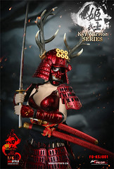 FIRE GIRL FG-KSJ001 Warring States of Japanese Warrior Armor Sanada xu Kyi - 03 (Lord Dragon 龍王爺) Tags: 16scale 12inscale onesixthscale actionfigure doll hot toys firegirl samurai