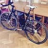 My son's bike (Ripley1969) Tags: bicicleta fixie rueda pedales biela manillar sillín asiento paseo madrid españa bycicle schiano cuadro tija crank negra black