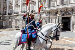 The Royal Guard (Lucien Schilling) Tags: madrid comunidaddemadrid spain es horse horses guard palace royal