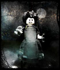 Edward (LegoKlyph) Tags: lego custom mini figure block brick scissor hands ice depp burton rider snow movie robot price