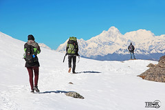Gosainkunda trek (morbidtibor) Tags: nepal himalaya trekking mountains snow