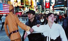 Times Square (neilsonabeel) Tags: nikonn90s nikon film analogue timessquare newyorkcity manhattan cutout people street