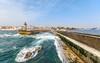 Farol de Felgueiras - Oporto (II) (F. Julián Martín Jimeno) Tags: porto portugal duero douro oporto desembocadura faro mar oceano olas farol 2017 nikon d7000 faroldefelguerias felgueiras