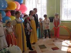 Пасхальное поздравление в детском социальном приюте «Горизонт»