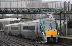 Irish Rail ICR Set 49 in Kildare Station. (Fred Dean Jnr) Tags: irishrail iarnrodeireann april2018 kildare kildarestation icr 22049 intercityrailcar rotem dieselmultipleunit dmu