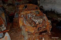 alfa romeo 1900 super (riccardo nassisi) Tags: auto abandoned abbandonata rust rusty rottame relitto ruggine ruins scrap scrapyard epave urbex fornace abbandonato