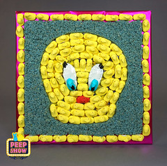 157-Peepeep Bird (Carroll Arts Center) Tags: carroll county arts council 2018 peepshow a display marshmallow masterpieces featuring more than 150 sculptures dioramas graphic oversized characters mosaics created inspired by peepsâ®