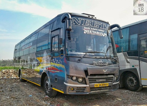 Neeta Travels Blossom 2 1 Ac Sleeper Bus Build By
