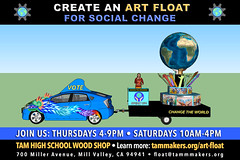 Art Float for Social Change - April 2018