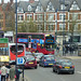 No 50 bus diversion - Alcester Road, Moseley Village