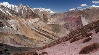 View of Sumda Valley from Dung Dung Chan La Pass (4820 m)