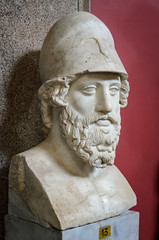 Büste des Perikles (Markus Wollny) Tags: city vatikan rom cittàdelvaticano vatikanstadt it