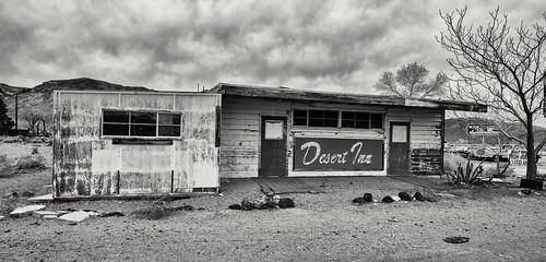 Abandoned motel in Beatty, Nevada