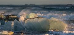 Icy Surf (John Behrends) Tags: iceland diamondbeach